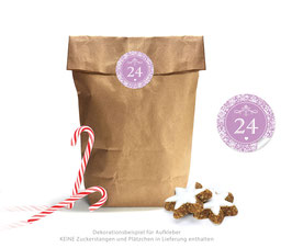 Adventskalender SET: VINTAGE - lila