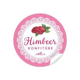 """""""Himbeer Konfitüre""""- Spitze - rosa"""