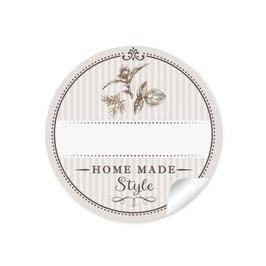 """""""Home Made Style""""- Kräuter - beige - mit Freitextfeld"""