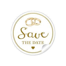 """""""Save the Date"""" - Hochzeitsringe"""