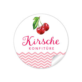 """Kirsche Konfitüre""- rot"