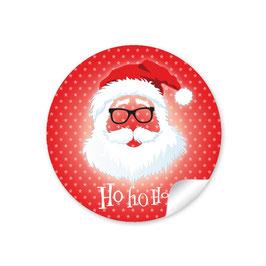"""""""Ho Ho Ho"""" -  Hipster Nikolaus - rot"""
