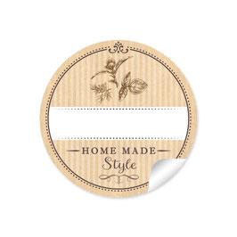 """""""Home Made Style""""- Kräuter - Natur -  mit Freitextfeld"""