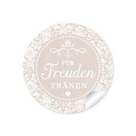 """""""Für Freudentränen"""" - Vintage Ornamente - beige"""