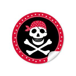 Pirat - rot schwarz