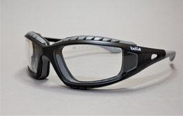 Bollé Schutzbrille Tracker II klar mit regulierbarem Kopfband