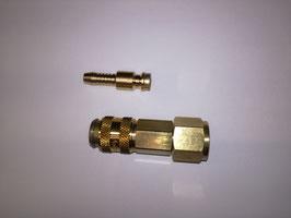 Gasschlauch für Schweißmaschinen 3m mit verschiedenen Anschlüssen