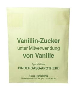 Vanillinzucker nach Dr. Mauser, unter Vewrewendung von Vanille