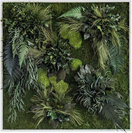 styleGREEN Pflanzenbild (80x80cm)