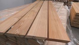 Rhombusleiste / Rautenleiste aus sibirischer Lärche 20x140 mm Länge 3m 4m  A/B Sortierung
