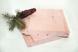 Profilholz Sharpline Nut-Feder  20x141 mm A/B Sortierung Länge 2m 3m 4m  Zirbelkiefer (sibirische Zeder)
