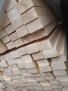 Dachlatten | Konstruktionsholz 30x50 mm 40x60 mm   Länge  4m   Fichte/Tanne