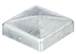 Pfostenkappe Zaunkappe Abdeckkappe Pyramide 90 x 90 mm verzinkt
