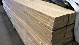 Brett | Schnittholz sägerau sibirische Lärche 25 x 150 mm Länge 3m 4m A/B Sortierung