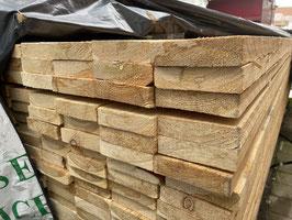Brett | Schnittholz sägerau sibirische Lärche 25 x 105 mm Länge 2m 3m 4m A/B Sortierung