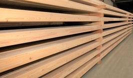 Brettschichtholz  Leimbinder Leimholz 60 x 120 x 12.000 mm, sibirische Lärche
