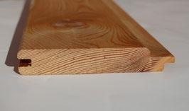 Nut-Feder Kombi-Profil  aus sibirischer Lärche 20 x 118 mm A/B Sortierung 3 m 4 m