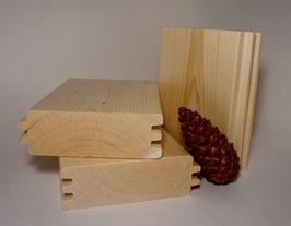 Profilholz Doppel-Nut 45 x 140 mm Länge 2m 2,5m 3m 4m  nordische/sibirische  Fichte/Tanne AB Sortierung