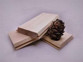 Profilholz Pyramide Nut-Feder  20x90 mm A/B Sortierung Länge 2m 3m 4m  Zirbelkiefer (sibirische Zeder)