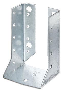 Balkenschuh, Typ B 60 x 100 mm Stahl roh, sendzimirverzinkt