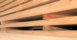 Brettschichtholz Leimbinder Leimholz  120 x 120 x 12.000 mm sibirische Lärche