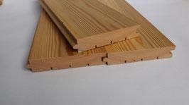 Fussboden aus sibirischer Lärche,  27 x 134 mm  4 m lang A/B Sortierung