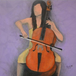 """""""THE CELLO PLAYER N°3"""" (2014)"""