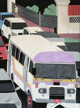 """""""YANGON ROAD N°1"""" (2014)"""