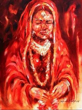 """""""INDIAN BRIDE N°3"""" (2015)"""