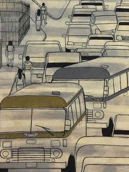 """""""YANGON ROAD N°7"""" (2015)"""