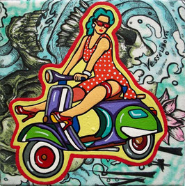 """VESPA MORNING II"" (2014)"