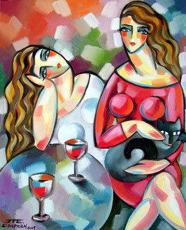 """UN BON MOMENT ENTRE AMIES"" (2015)"