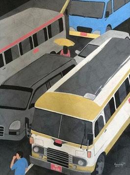 """""""YANGON ROAD N°2"""" (2014)"""