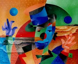 """""""UN CIRQUE À LA PLAGE N°3"""" (2002)"""