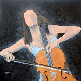 """""""THE CELLO PLAYER N°4"""" (2014)"""