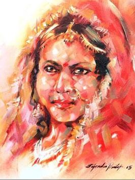 """""""INDIAN BRIDE N°2"""" (2015)"""