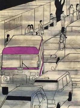 """""""YANGON ROAD N°5"""" (2015)"""