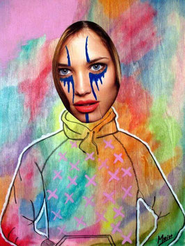 """""""MY HEART IS COLORFUL BUT NOT MY EYES"""" (2015)"""