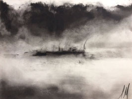 """MORNING FOG ON THE RIVER"" (2016)"