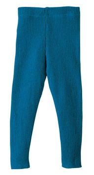 DISANA Legging bébé et enfant laine Mérinos, bleu