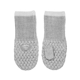 LILLELAM Moufles bébé enfant en laine Mérinos, gris