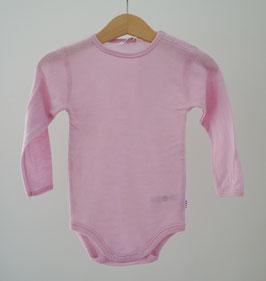 JOHA Body bébé laine Mérinos, rose