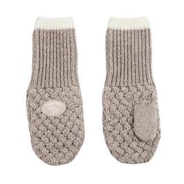 LILLELAM Moufles bébé enfant en laine Mérinos, beige