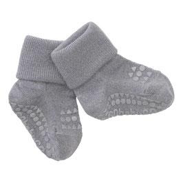 GOBABYGO Chaussettes antidérapantes pour bébé en laine, gris