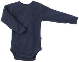 JOHA Body bébé laine Mérinos, bleu marine