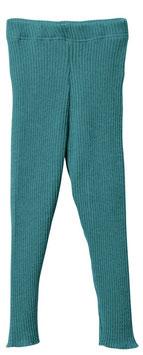 DISANA Legging bébé et enfant laine Mérinos, bleu lagon