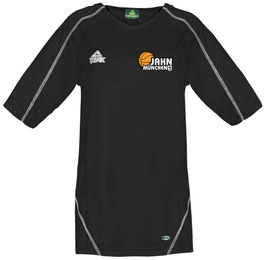 PEAK Shooting Shirt Black mit TS Jahn Basketball Logos und Wunschname