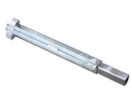 Barthau Eckpfosten Stahl 400 mm, alte Ausführung (6500-0265)
