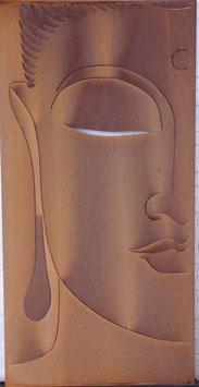 Tuinscherm boeddha