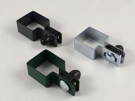 Endschelle Set quadratisch 80x80mm